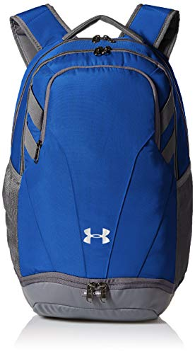 Under Armour Adult Team Hustle 3.0 Backpack , Royal Blue (400)/Gray , One Size Fits All