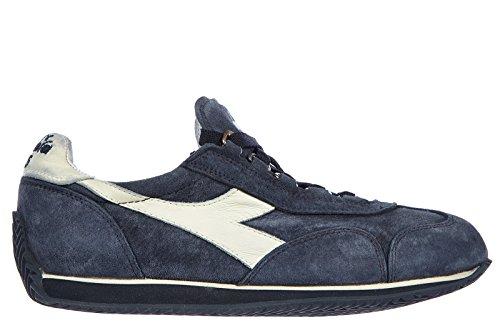 Diadora Heritage Ital Zapatillas Zapatos de Piel para Mujer Zapatillas de Fondo...