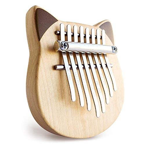 HENGTONGTONGXUN Vvave 8 Clave Gato Kalimba abedul material Pulgar piano instrumento musical...