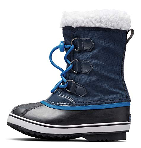Sorel - Youth Yoot Pac Nylon Winter Snow Boot for Kids, Collegiate Navy, 2 M US