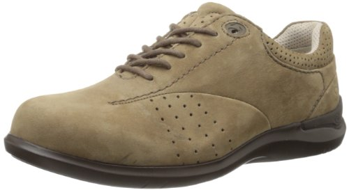 Aravon Women's Farren Lace Up Walking Shoes, Straw, 5