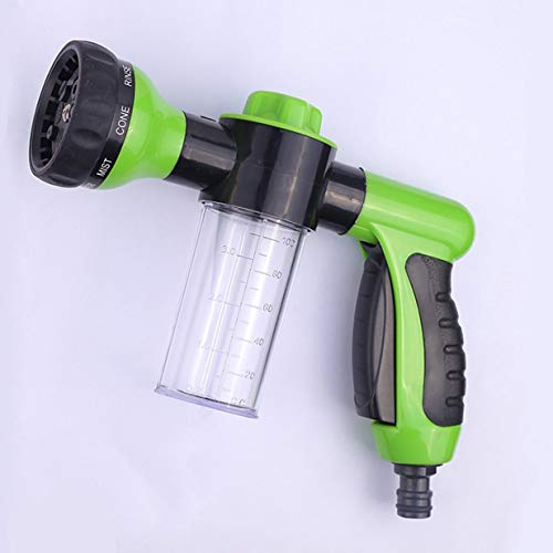 Equipo de pulverización de Agua a Alta presión de Espuma Pistola de pulverización de Espuma Pistola de pulverización de Espuma automotriz de Alta presión Generador de Limpiador doméstico - Aleatorio