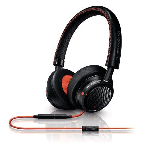 Philips M1BOi/28 Philips Fidelio On-ear Headband Headset Black/Orange