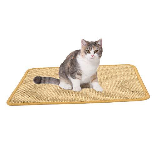 ChengYi Kratzmatte für Katzen, natürliches Sisal, rutschfest, für Katzen