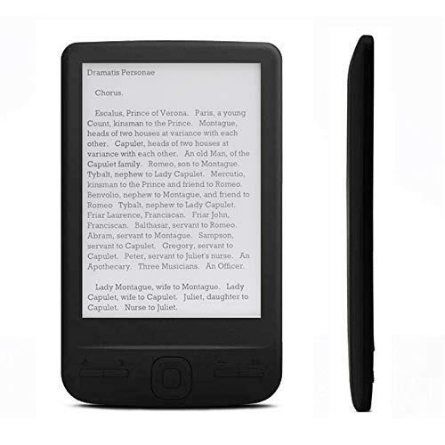 Semoic BK-4304 Lector de Libros de Papel ElectróNico Pantalla de Tinta de 4,3 Pulgadas Ebook Lector de Libros ElectróNicos a Prueba de Agua 4G 800 X 600 miniatura