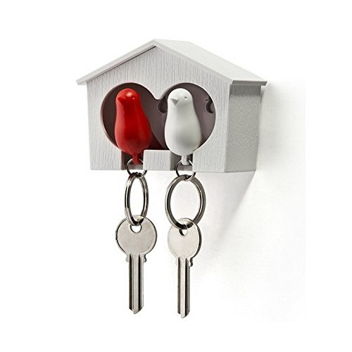Love Birds House Key Rack