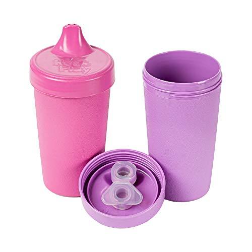 Re-Play Kinder Trinklernbecher Set, nachhaltig und Stabil aus Recyclingmaterial...