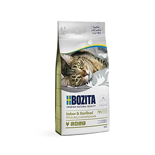 Bozita Indoor & Sterilised Chicken | 10kg Katzenfutter trocken
