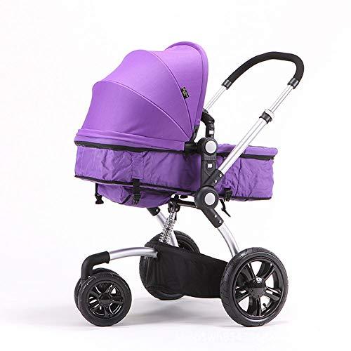 Thole Cochecito de bebé Infantil para niños pequeños Cochecitos para niños pequeños Agregar Bandeja