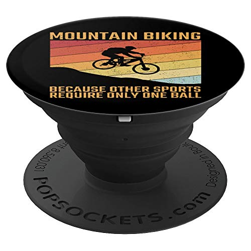 Mountain Biking Mountainbike MTB Offroad PopSockets Grip and Stand for Phones and Tablets