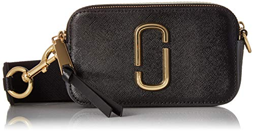 Marc Jacobs Women's Snapshot Camera Bag, French Grey Multi, One Size