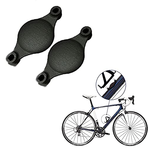 DSFKS For Airtag Bicycle Handlebar Bike Tie Fixed Mount Holder Bracket Attachment Part, For Standard Bottle-Nylon,Protective Case For Air_Tag,Portable Bluetooth Locator For Air Tags (2PCS)