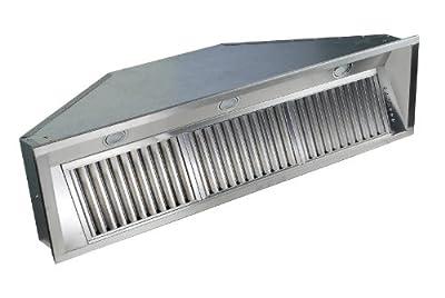 ZLINE 46 in. 1200 CFM Range Hood Insert in Stainless Steel (695-46)