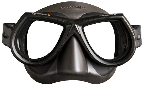 Mares Erwachsene Mask Star LiquidSkin SF Taucherbrille, Grau, BX