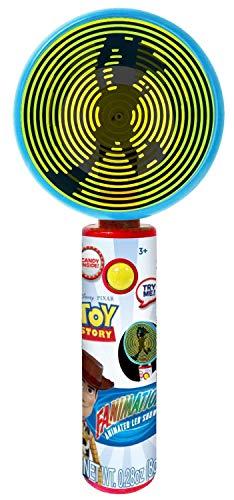 Disney Pixar Toy Story 4 Light Up Fanimation Fan with Candy