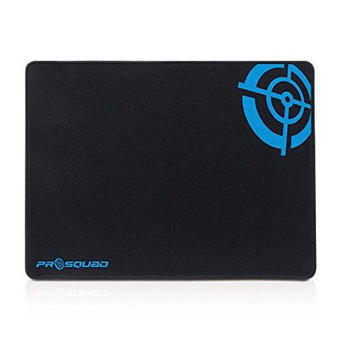 Prosquad SQ2302 Gaming Mauspad, Professional Speed-Pad, rutschfest und präzise, XL: 35x45cm, schwarz
