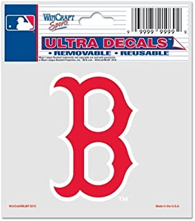 WinCraft MLB Boston Red Sox 84406010 Multi-Use Decal, 3
