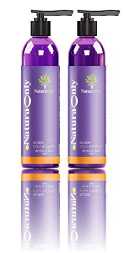 Natura Only- Purple Dream Shampoo Conditioner Set - Anti-geel - Verbetert gekleurd haar - Blond, platina, grijs, gebleekt - Aloë Vera, natuurlijke kokosolie - Toner voor blond, grijs, gebleekt haar