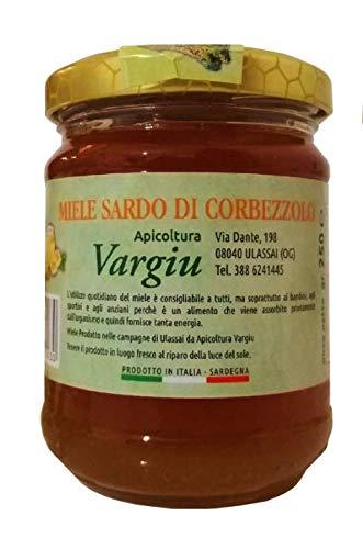 3 x 250 gr - Miele di corbezzolo prodotto ad Ulassai (Ogliastra), Sardegna dall'apicoltore Antioco Vargiu