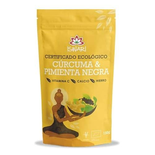 Iswari Curcuma-zwarte peper Superalimento 150 g; Bio per stuk (1 x 200 g)