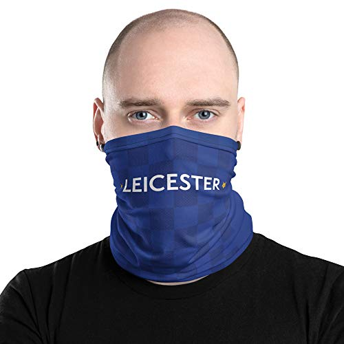 Leicester Face Mask Gaiter 2019 Home Jersey - by Dedbol
