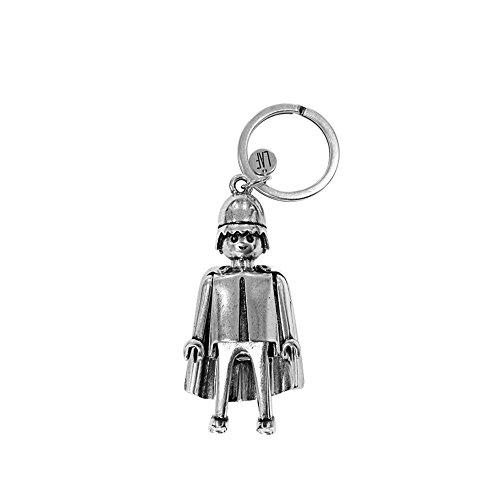 Llavero Playmobil Caballero Medieval tamaño pequeño (Producto Oficial).
