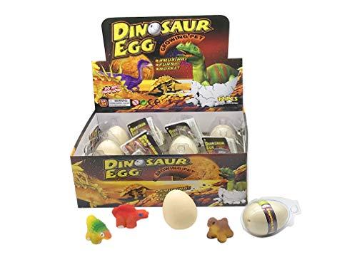 JustRean Toys 1 Magischer Schlüpf- Dinosaurier aus dem Schlüpfei - Magic Growing Egg - Dino Ei