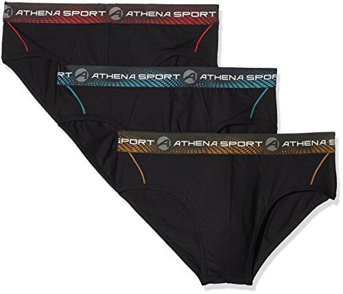 Athena Training Cierre (Pack de 3) para Hombre