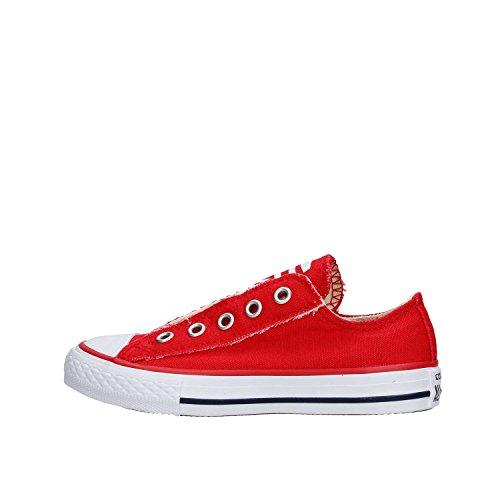 Converse Ctas Slip Scarpe Sportive Bambino Rosse 360975C Rosso 27 EU