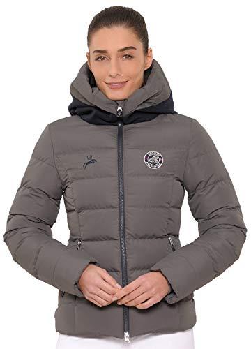 SPOOKS Damen Jacke, Kapuzenjacke, Damenjacke, Herbstjacke - Debbie Jacket Dark Grey XL