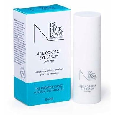 Dr Nick Lowe Age Correct Eye Serum 15ml by dr nick lowe