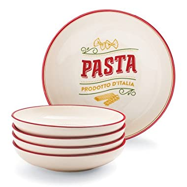 Sur La Table Five-Piece Pasta Bowl Set H3601-BW12-5PC