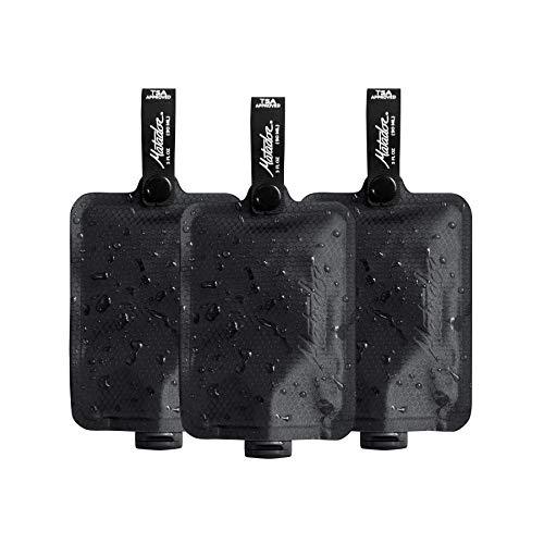 MATADOR FlatPak Toiletry Bottle 3pk Kulturtasche, 10 cm, 0,09 Liter, Black