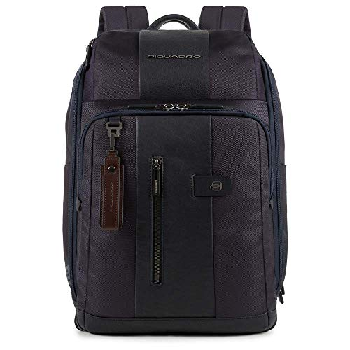 Piquadro Black Square Laptop Backpack 14? dark blue
