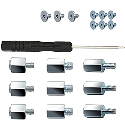 m.2 ssd Screws, Suitable for Asus & Gigabyte & MSI Motherboards. Laptop Nvme M2 Screws
