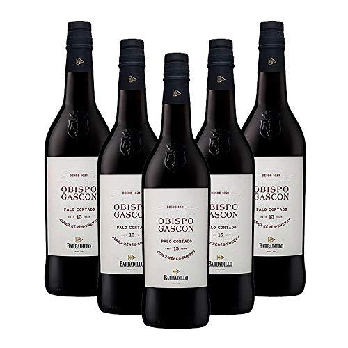 Wein Palo Cortado Bischof Gascon von 75 cl - D.O. Jerez - Bodegas Barbadillo (5 Flaschen)