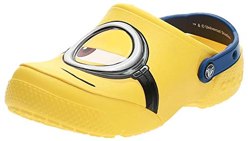 Crocs Fun Lab Minions Clog, Unisex - Kinder Clogs, Gelb (Yellow), 24/25 EU24/25 EU