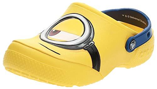 Crocs Fun Lab Minions Clog, Unisex - Kinder Clogs, Gelb (Yellow), 32/33 EU32/33 EU