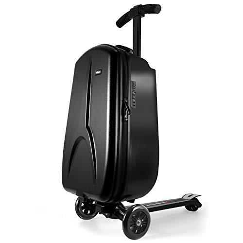 iubest Scooter Luggage for Kids/Adult Scooter Carry on Suitcase Foldable Trolley Case Bags for Travel, Business and School Boys and Girls 50 liter