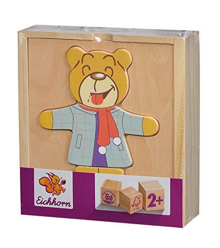 Simba HEROS 100005401 - Eichhorn, Osos rompecabezas, clasificado 4 , color/modelo surtido