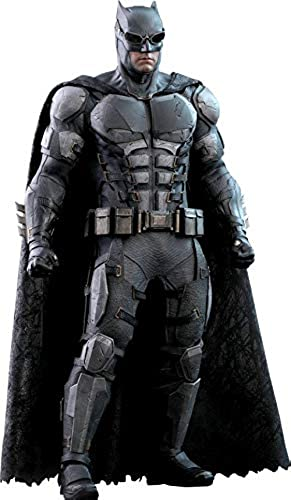 Hot Toys HT903119 Batman Taktischer Batsuit Version aus Justice League-Movie Masterpiece Serie, Schwarz