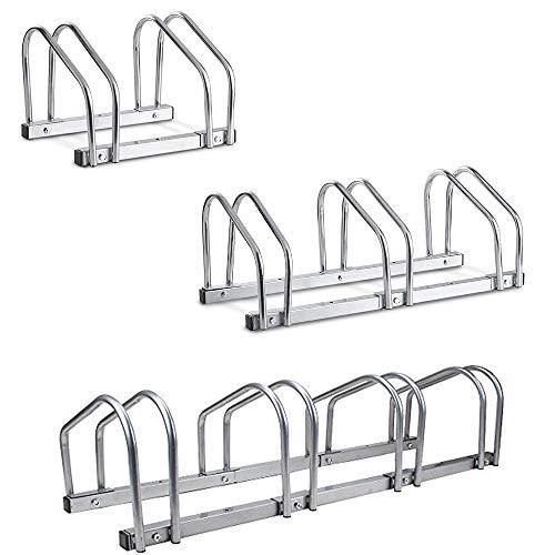 SavingPlus 2/3/4 Bike Wall Stand Parking Floor Storage Stand Rack Bicycle Locking UK (4)