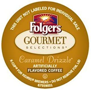FOLGERS GOURMET SELECTIONS CARAMEL DRIZZLE COFFEE - 120 K CUPS