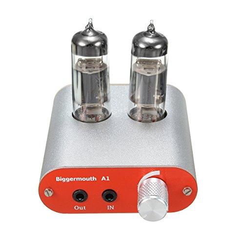 Biggermouth A1 HiFi Fever Level Audio Amplificador de Auriculares 6J5 Válvula de...