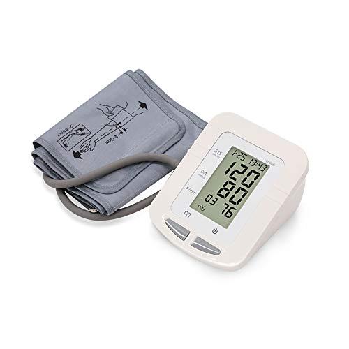 Bloeddrukmeter Voor Bovenarm Automatische Digitale Bovenarm Bloeddrukmeter Grote LCD Manchet Bloeddrukmeter