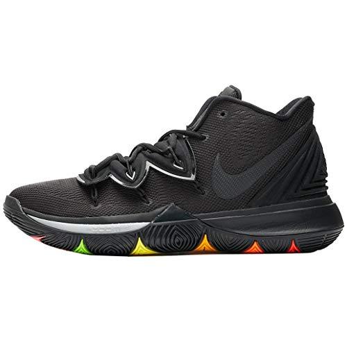 Nike Kyrie 5 Basketball Shoes (M7.5/W9, Black/Black)