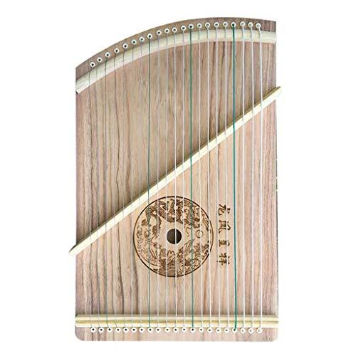 Guzhengs, Chinesisch GU Zheng, Guzheng Trainer, Guzheng Instrument mit vollem Zubehör/Rucksack Geeignet for Professional/Anfänger/Kinder, 21 Saiten (Color : B)