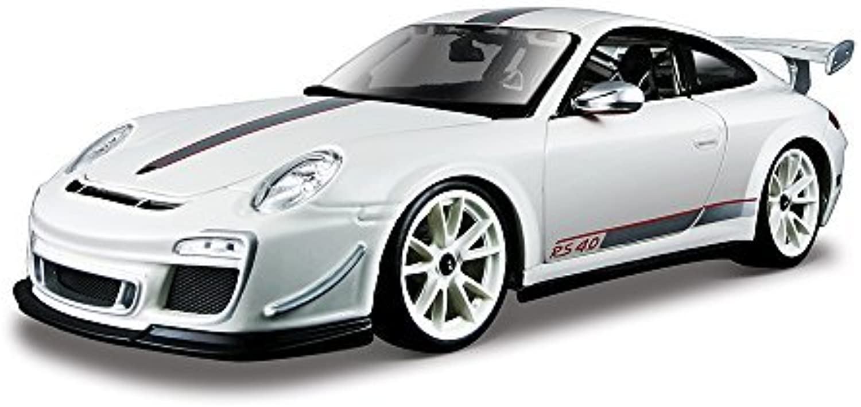 Bburago 1 18 Scale Plus Porsche GTS RS 4.0 Model Car (White) by Bburago