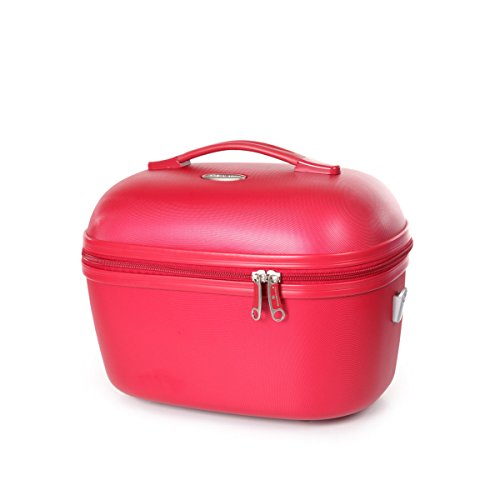 SNOWBALL - VANITY CASE SNOWBALL DUBLIN 34 X 24 CM ABS - Idée cadeau femme Rouge - Rouge