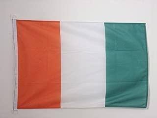 AZ FLAG Ivory Coast Nautical Flag 18'' x 12'' - Ivorian Flags 30 x 45 cm - Banner 12x18 in for Boat